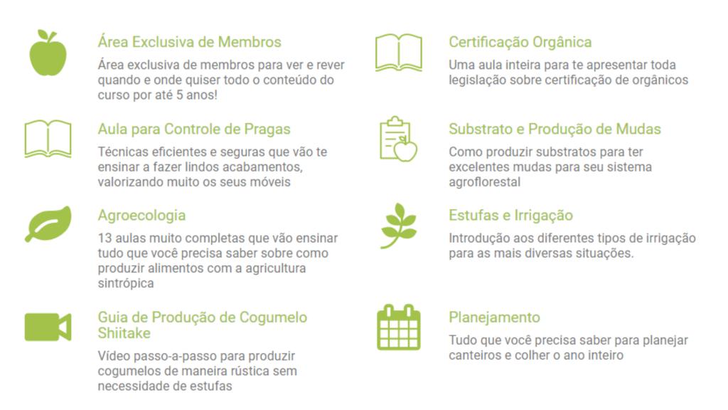 alimentos orgânicos curso online